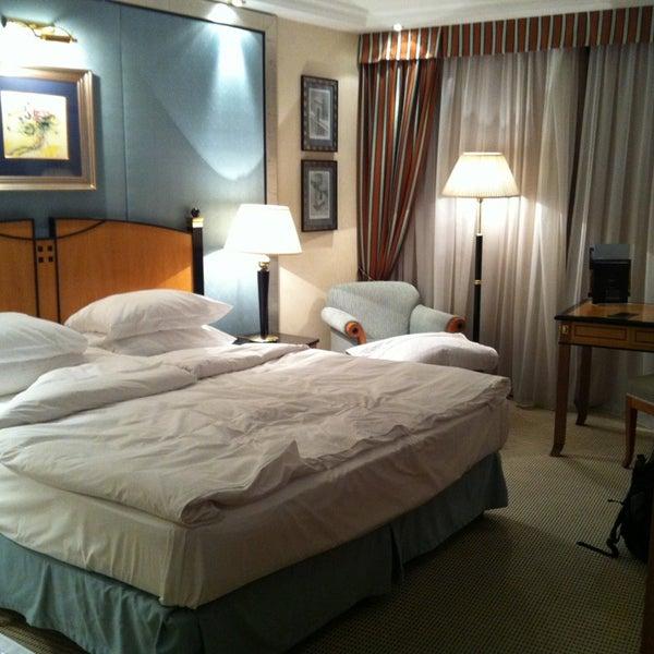 Photo taken at Kempinski Hotel Corvinus by Max Z. on 1/14/2013
