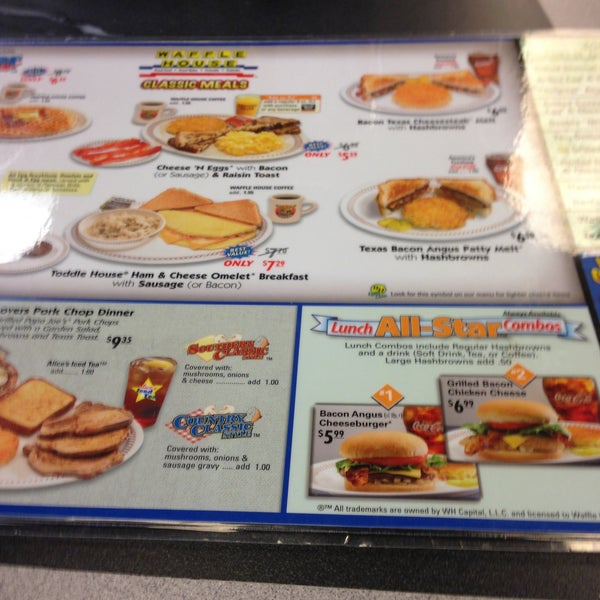 Photo taken at Waffle House by Brooke B. on 4/24/2013