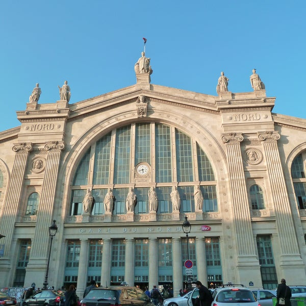 gare sncf de paris nord train station in paris. Black Bedroom Furniture Sets. Home Design Ideas