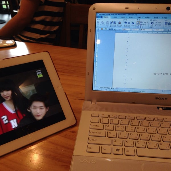 Photo taken at Starbucks by geeni on 6/8/2014