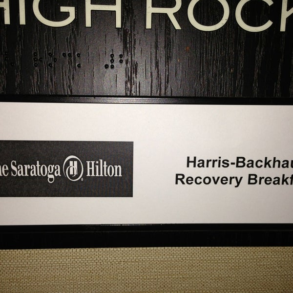 Photo taken at The Saratoga Hilton by Benton H. on 1/1/2013