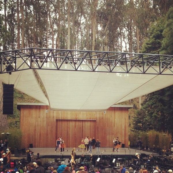 Photo taken at Sigmund Stern Grove by Anna D. on 7/28/2013