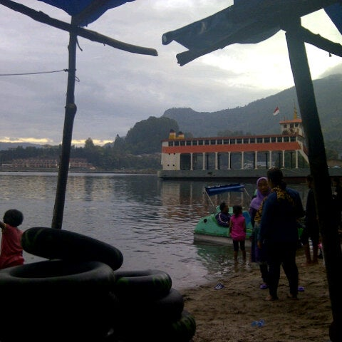 Photo taken at KMP Ferry Tao Toba Ajibata by Mita H. on 9/22/2012