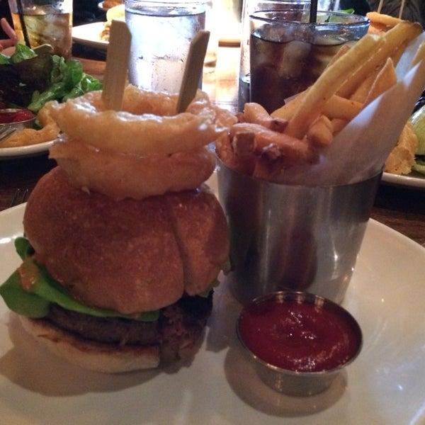 Photo taken at B & B Winepub (Burger & Barrel) by Dan E. on 5/2/2014