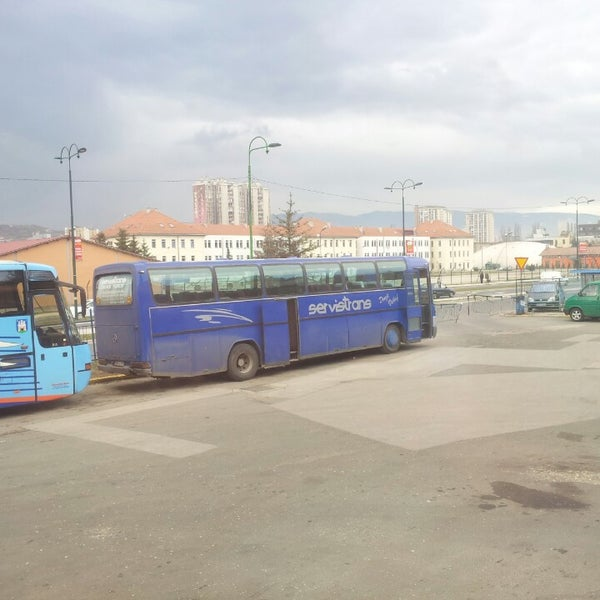 Photo taken at Autobusna stanica by Naim O. on 3/8/2013