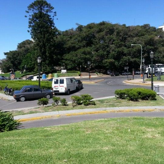 Photo taken at Plaza Francia by Maximiliano T. on 12/22/2012