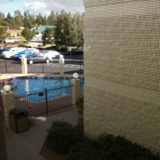 Photo taken at Red Feather Lodge Grand Canyon by Volker D. on 9/27/2012