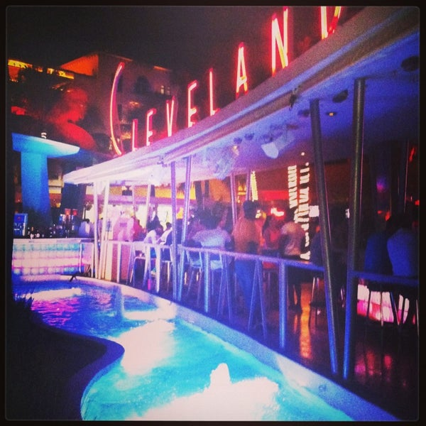 Photo taken at Clevelander South Beach Hotel and Bar by Rafael M. on 5/24/2013