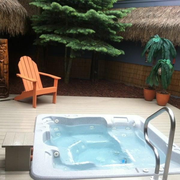 Oasis Hot Tub Garden 7 Tips