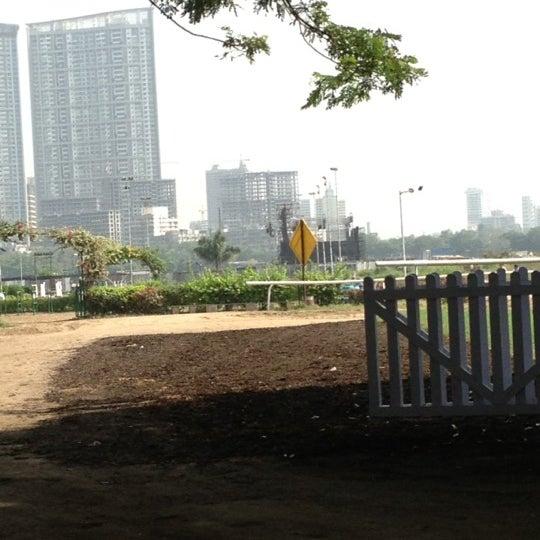 Photo taken at Mahalaxmi Race Course (Royal Western India Turf Club) by Ashish M. on 11/16/2012