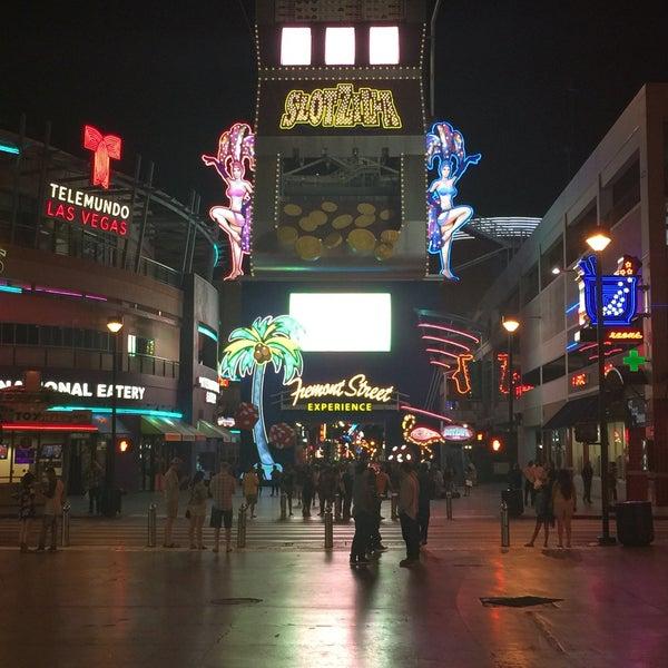 Photo taken at Downtown Las Vegas by İbrahim D. on 7/9/2016