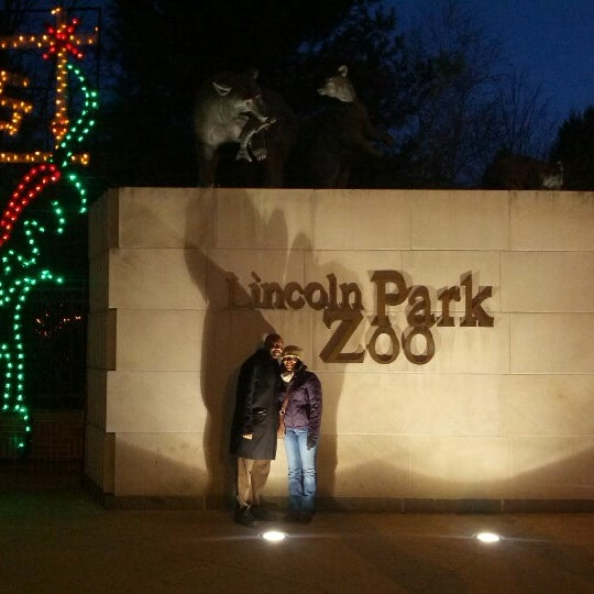 Photo taken at Lincoln Park Zoo by Audrey P. on 12/14/2012