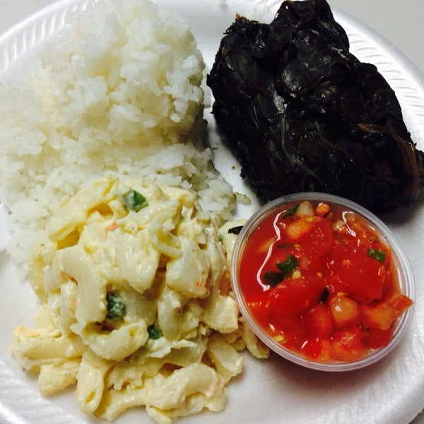 Photos at ka 39 aloa 39 s super j 39 s authentic hawaiian food for Authentic hawaiian cuisine