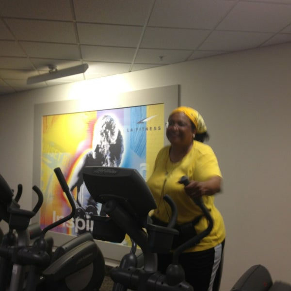 Photo taken at LA Fitness by Moor  Of Dundee L. on 6/3/2013