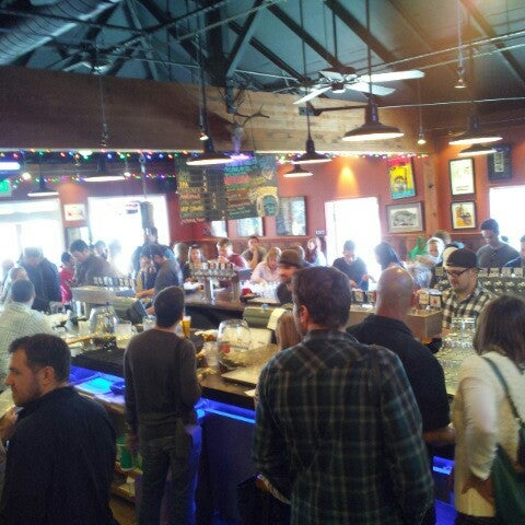 Photo taken at Lagunitas Brewing Company by Oliver N. on 2/10/2013