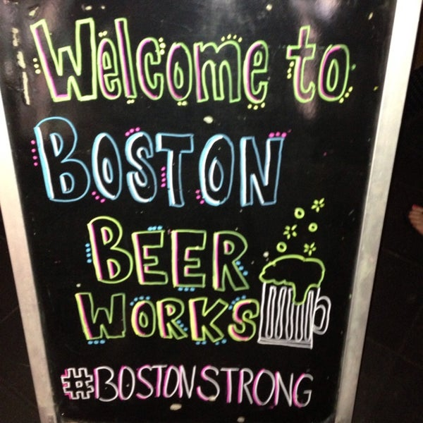 Photo taken at Boston Beer Works by Jessica D. on 6/3/2013