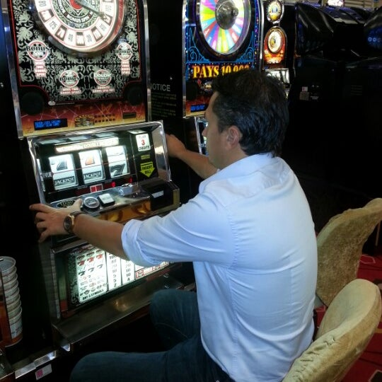 Photo taken at Seven Luck Casino by Gokhan K. on 9/27/2012