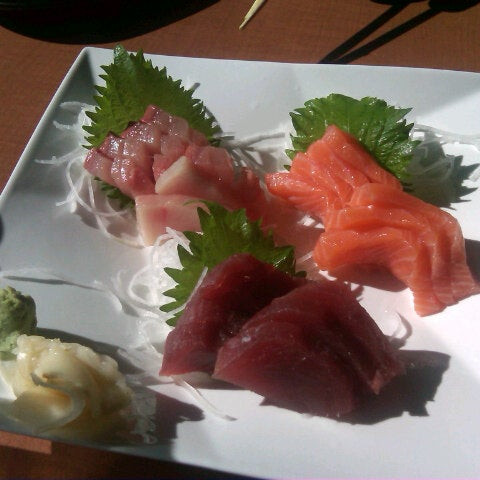 Photo taken at RA Sushi by Cristina on 12/18/2012