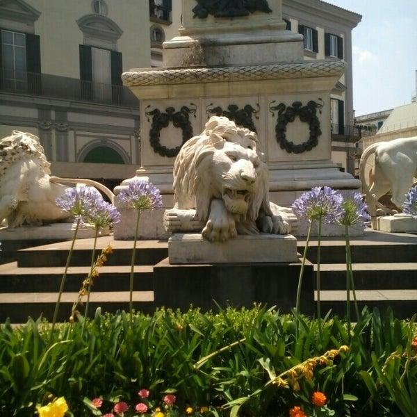 Photo taken at Piazza dei Martiri by Salvatore D. on 7/4/2015