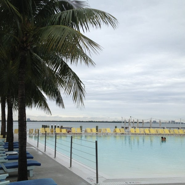 Photo taken at The Standard Spa, Miami Beach by Jan F. on 1/17/2013