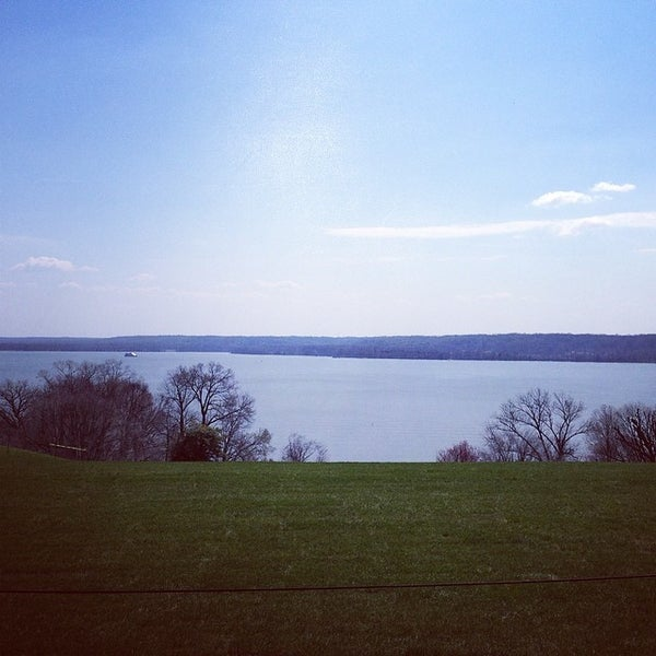 Photo taken at George Washington's Mount Vernon Estate, Museum & Gardens by Sarah Jo S. on 4/9/2014