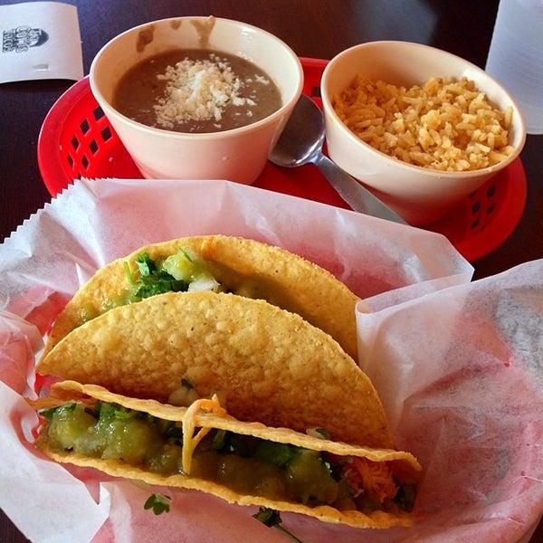 Photo taken at Tia Cori's Tacos by Phillip M. on 6/17/2014