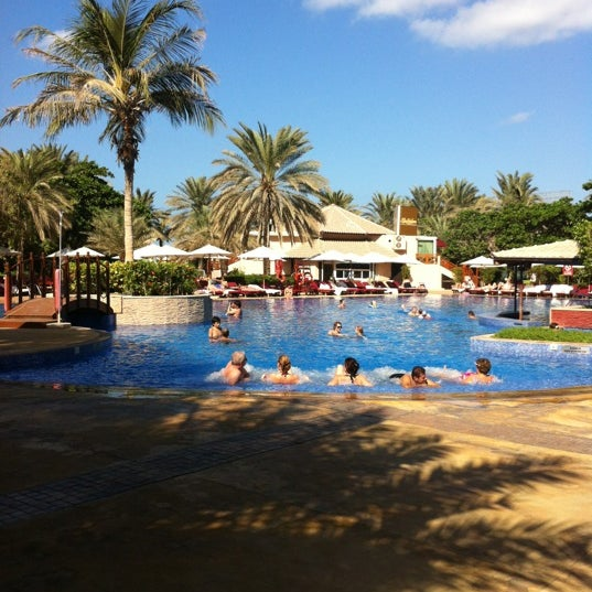 Photo taken at Habtoor Grand Beach Resort & Spa by Eduardo F. on 11/17/2012