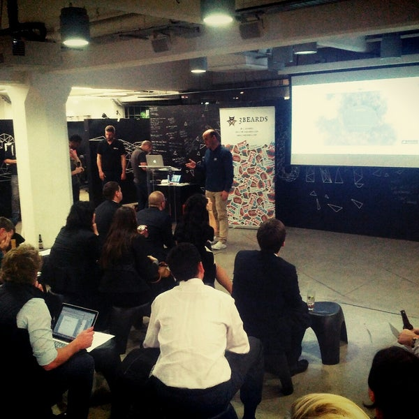 Photo taken at Wayra UK by David P. on 11/27/2014