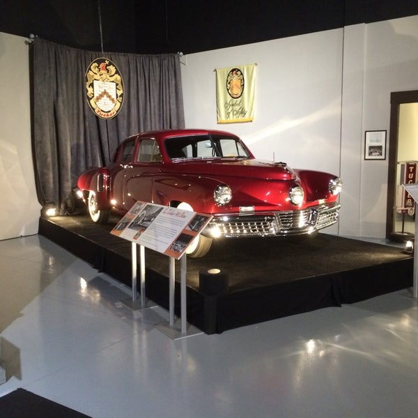 Photo taken at The Antique Automobile Club of America Museum by Tiago A. on 11/14/2014
