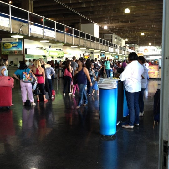 Photo taken at Terminal Rodoviário Governador Israel Pinheiro by Ana A. on 10/11/2012