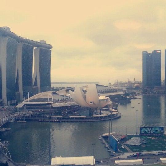 Photo taken at The Ritz-Carlton, Millenia Singapore by Charlotte C. on 1/19/2013
