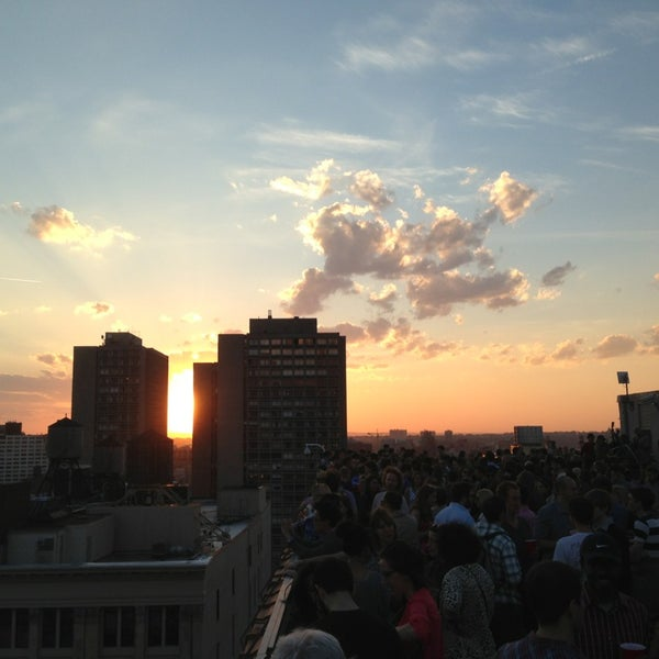 Photo taken at Meetup HQ Roof Deck by Chad B. on 5/16/2013