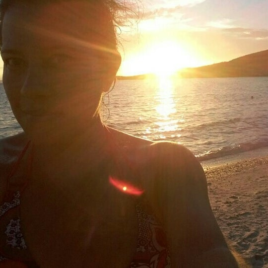 Photo taken at Playa Pichilingue by Mireille M. on 7/26/2016