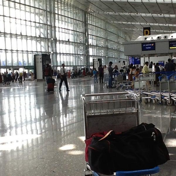 Photo taken at Netaji Subhash Chandra Bose International Airport (CCU) by Amit B. on 7/7/2013