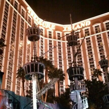 Photo taken at Treasure Island - TI Hotel & Casino by Robert E. on 12/13/2012