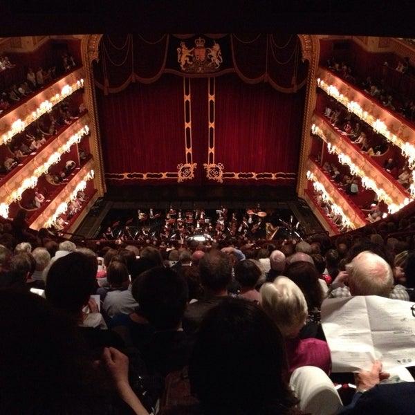 Photo taken at Royal Opera House by Vladimir M. on 6/4/2013