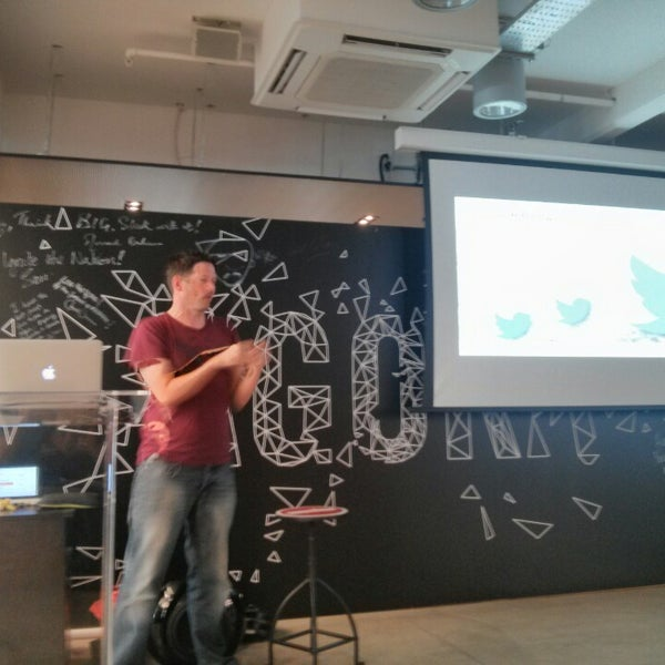 Photo taken at Wayra UK by Alex B. on 7/28/2014