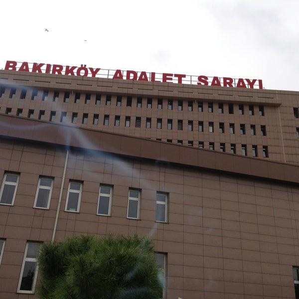 Photo taken at Bakırköy Adalet Sarayı by Anıl N. on 4/7/2013