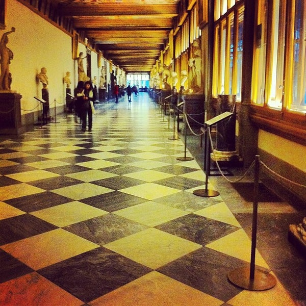 Photo taken at Galleria degli Uffizi by Yuancheng Y. on 2/5/2013