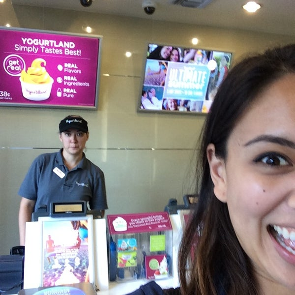 Photo taken at Yogurtland by Tisha G. on 7/23/2014