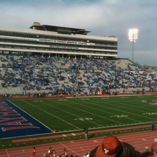 Photo taken at Memorial Stadium by Jane R. on 10/27/2012