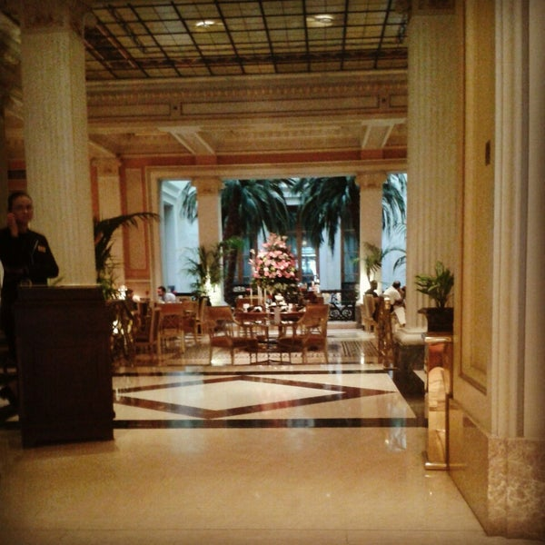Photo taken at Hotel Grande Bretagne by Ifigeneia K. on 3/24/2014
