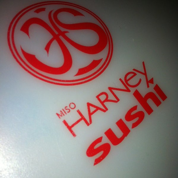 Photo taken at Harney Sushi by Di - Chowmut L. on 1/16/2013