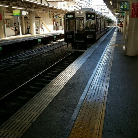 Photo taken at 阪急 南茨木駅 (Minami-ibaraki Sta.) (HK68) by あきお 9. on 7/25/2015
