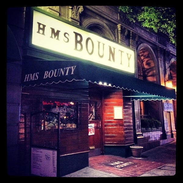 The hms bounty wilshire center koreatown los angeles ca for Food bar wilshire