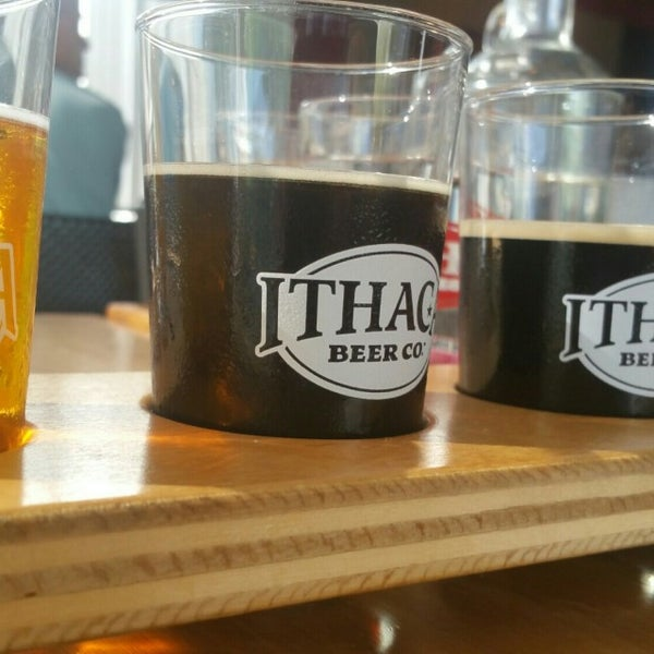 Photo taken at Ithaca Beer Co. Taproom by Joe D. on 8/6/2016