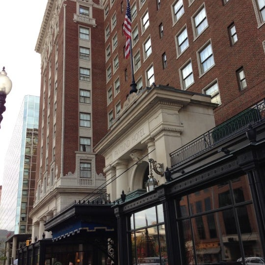 Photo taken at Amway Grand Plaza Hotel by Kyle T. on 10/2/2012