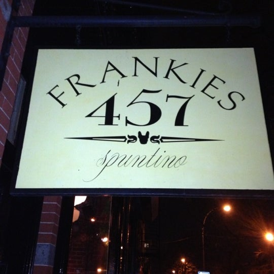 Photo taken at Frankies 457 by Mitchell C. on 12/12/2012