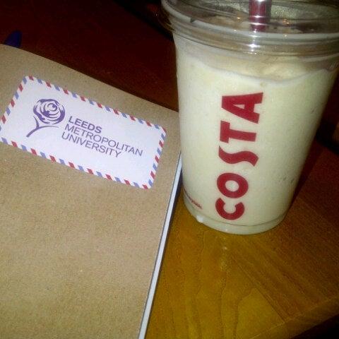 Photo taken at Costa Coffee by Suheyla U. on 11/13/2012