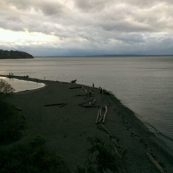 Photo taken at Carkeek Park by Andrew K. on 10/16/2016